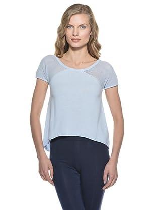 Stefanel T-Shirt (Hellblau)