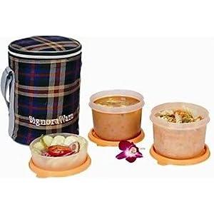 Signoraware Outdoor Executive Medium Lunch Box With Bag 516