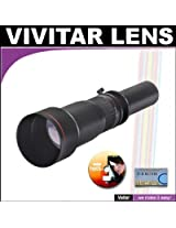 Vivitar 650-1300mm f/8-16 SERIES 1 Telephoto Zoom Lens For The Olympus Evolt E-30, E-300, E-330, E-410, E-420, E-450, E-500, E-510, E-520, E-620, E-1, E-3 Digital SLR Cameras