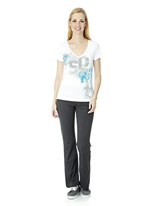 ESPRIT SPORTS Damen T-Shirt (Weiß)