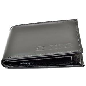 Je Porte 802 Tata Dana Black Wallet For Men