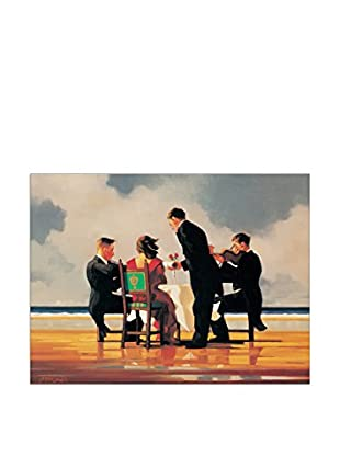 Artopweb Panel Decorativo Vettriano Elegy For A Dead Admiral 80x60 cm Bordo Nero
