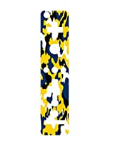 Blue And Gold Yellow Camo Camouflage Wiimote Wii Controller Vinyl Decal Sticker Skin By Moonlight Printing
