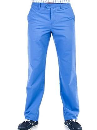 Cortefiel Pantalón Sport Color (Azulón)