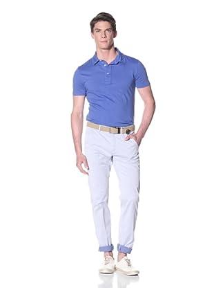 Mason's Men's Torino Yarn Dye Pant (Light Blue)