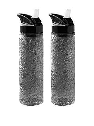 asobu Set of 2 Perma Frost Water Bottles