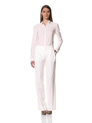 JIL SANDER Women's Cotton Blend Stretch Pant