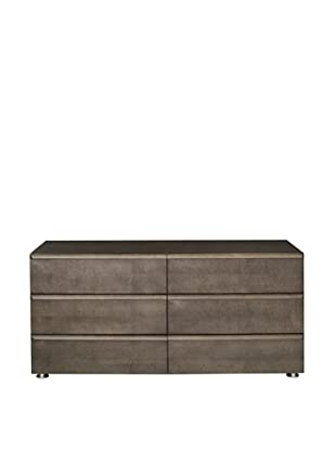 Urban Spaces Boma Double Dresser, Gray