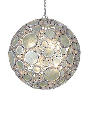 Varaluz Fascination 6-Light Orb Pendant, Nevada