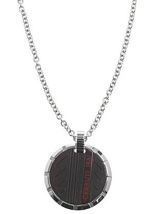 Cerruti Collar RH41100SN Acero y Patina de Metal Negro