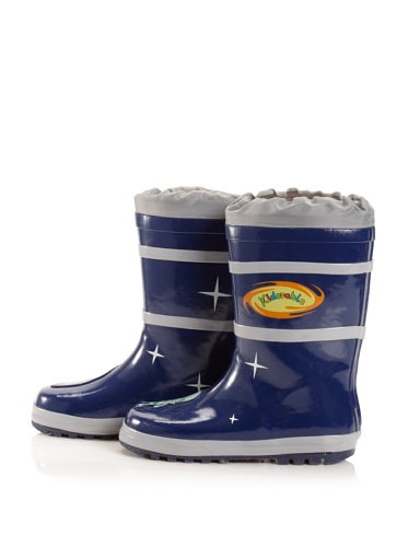Kidorable Space Hero Rain Boot (Toddler/Little Kid) (Blue)