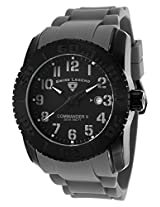 Commander Black Steel Case Grey Silicone Black Dial (10068-Bb-01-Gry)
