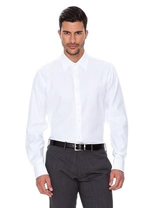 Caramelo Camisa Traje (Blanco)