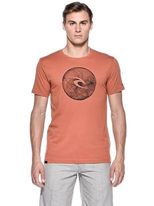 Rip Curl T-Shirt Physics S/S Tee (Arancione)