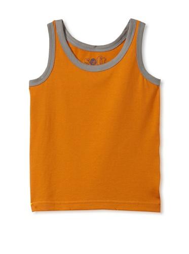 Soft Clothing Kid's Mia Tank Top (Indian Marigold)