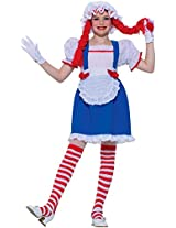Forum Novelties Rag Doll Child Costume, Small