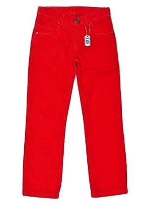 BIKKEMBERGS Pantalón Kids (Rojo)