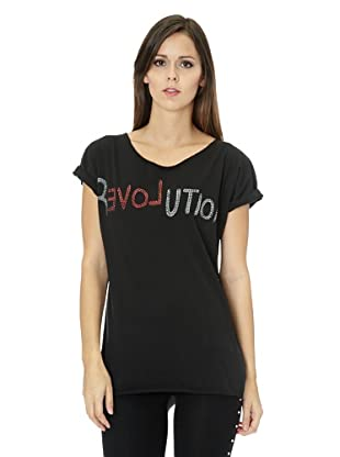 Free for Humanity T-Shirt Revolution (Schwarz)