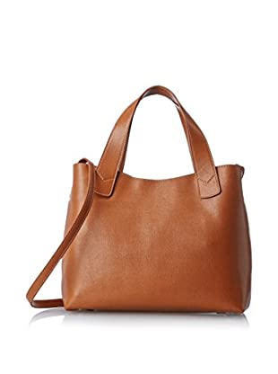 Merci Marie Women's Ferrara Small Two-Handle Tote, Tan