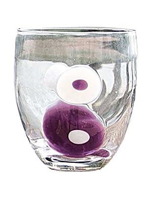 Tognana  Glas 6er Set Brenda transparent/lila