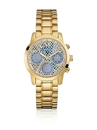 Guess Uhr mit japanischem Mechanikuhrwerk Woman Mini Sunrise Gold Tone goldfarben 36.5 mm