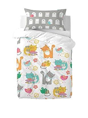 MOSHI MOSHI Juego De Funda Nórdica Cat & Mouse