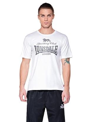 Lonsdale Camiseta Sporting Club (Blanco)