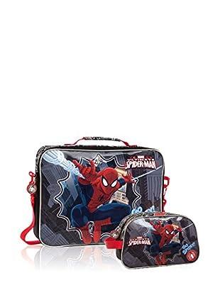 Marvel Messengertasche + Etui Spiderman