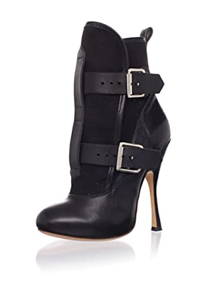 Vivienne Westwood Women's Pirate Ankle Boot (Black Canvas)