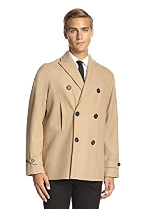 DSQUARED2 Men's Double-Breasted Peacoat