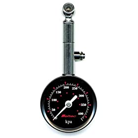 【クリックでお店のこの商品のページへ】Meltec ( メルテック ) 空気圧測定器 タイヤゲージ F-102: カー&バイク用品