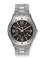 Swatch Silver Steel Analog Men Watch B959756