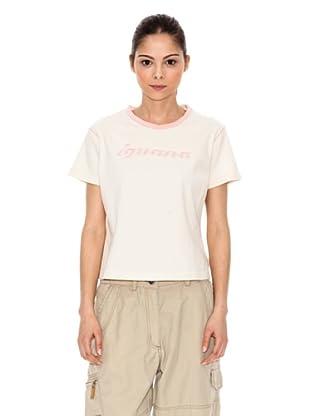 Iguana T-Shirt Desio (creme)