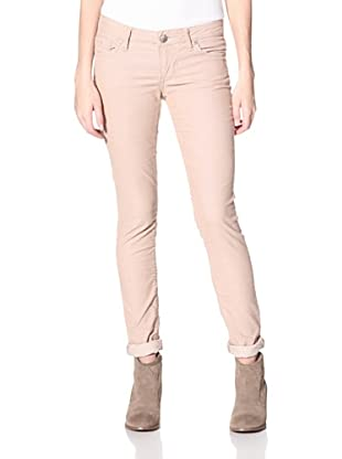 Stitch's Women's Fox Skinny Corduroy Pants (Sand)