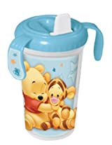 Disney Double Wall Sipper with Handle - Winnie (Blue)
