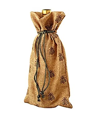 Sage & Co. Gold Cord French Bee Wine Bag