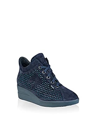 Ruco Line Sneaker Zeppa 200 Strass Sonia