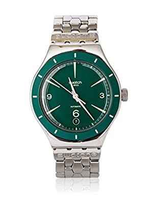 Swatch Quarzuhr Unisex GREEN SKY YAS410G 37.5 mm