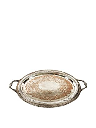 W.M. Rogers Oval Platter with Handles