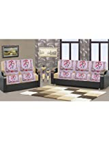 Handloom Hub Set Of 10 Premium Nitted Sofa Cover