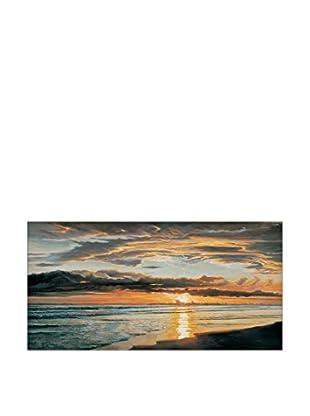 Artopweb Wandbild Shoreline Splendor mehrfarbig