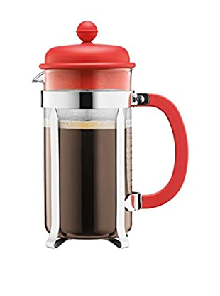 Bodum Cafetera French Press 8 Cups 1 L Naranja