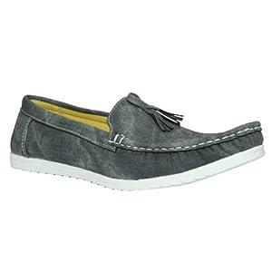 Marco Ferro Men's Loafer Shoes 1480 Black
