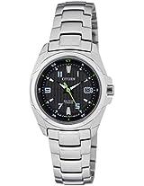 Citizen Eco-Drive Analog Black Dial Women's Watch EW1770-54E