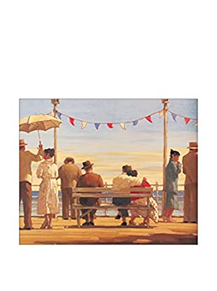 Artopweb Panel Decorativo Vettriano the Pier 56x68 cm Multicolor