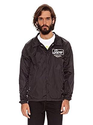 Grimey Wear Chaqueta Coach Motor Crew (Negro)