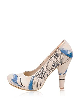 Dogo High Heel Mysterious Owl (Creme)