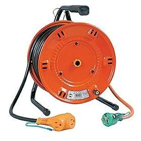 日動 電工ドラム びっくリール 100V アース付 30m NLE30S: 産業・研究開発用品