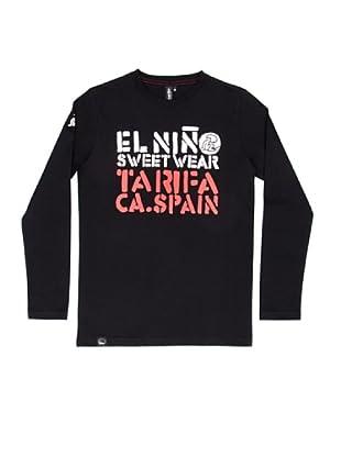 El Niño Camiseta Manga Larga Tarifa (negro)