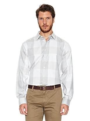 Dockers Camisa Refined Oxford (Gris)